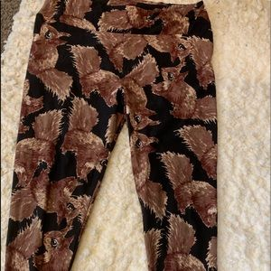 LuLaRoe squirrel leggings
